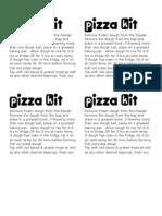 Pizza Kit Labels