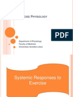 K - 30 Systemic Responses to Exercise (Fisiologi)