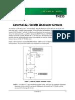 32.768 Khz Oscillators for Rabbit