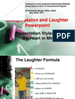 Using Passion and Laughter