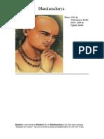 Bhaskar Acharya