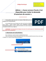 Fiche Authentification