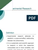 Marish Experimental Research