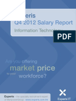 Experis IT Salary Report Q4 2012