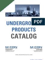 Underground Products Catalog