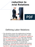 Labour Relations and SHRM+Class 1 & 2