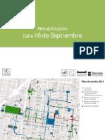16 Septiembre Proyecto Peatonalizacion