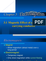 3.1 Magnetic Effect of a Current-carrying Conductor