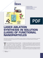Laser Ablation Synthesis in Solution Lasis of Functional Nanoparticles