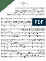 Mozart - Abendempfindung, K.523