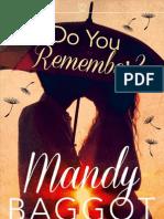 Do You Remember - Mandy Baggot - Extract