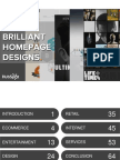 54 Examples of Brilliant Homepage Design