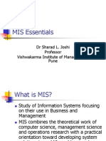 Essentials of MIS -notes