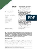 Martin-Barbero - La Comunicacion Plural
