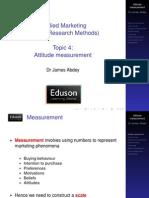 4 Attitude Measurement