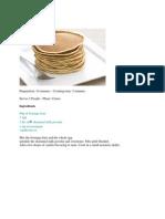 Dukan Pancakes