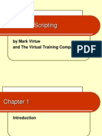 shell scripting course outline