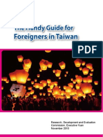 """The Handy Guide for Foreigners in Taiwan"""