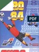 Panini Euro 1984