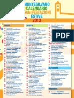 Programma Estate Montesilvano 2013