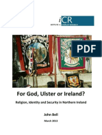 For God Ulster or Ireland Open University 20130300