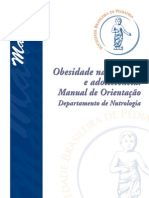 PEDIATRIA - Manual Da Obesidade Infantil[1][1]