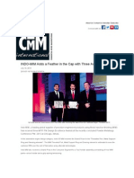 INDO-MIM Adds a Feather in the Cap with Three Awards from MPIF - CMM Magazine.pdf