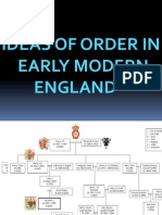 IDEAS OF ORDER IN EARLY MODERN ENGLAND
