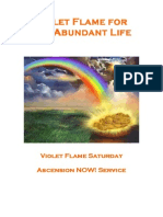 Violet Flame for the Abundant Life - April 2013 With Faith Decree