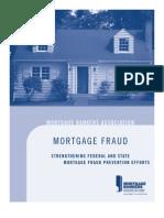 Mortgage Fraud Study