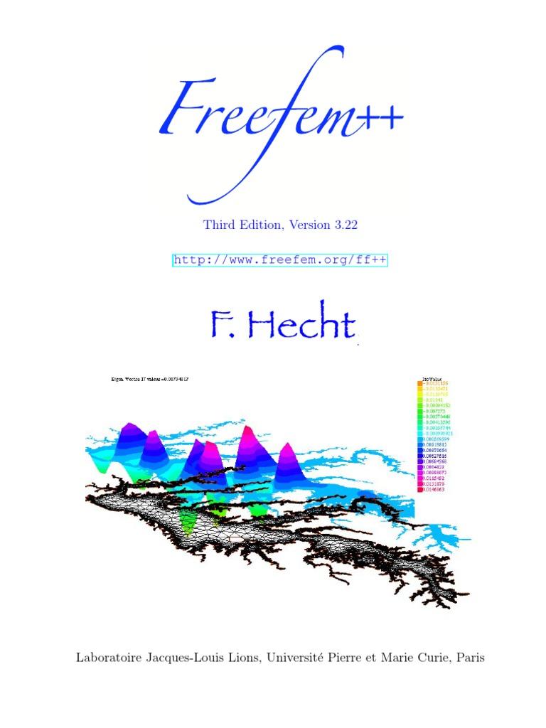 Freefem++   Mac Os   Matrix (Mathematics)