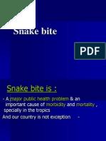 Community Medicine Presentations - Snakebite