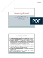 Pwp Morfologia Flexional