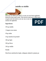 Inghetata de Nutella Cu Stafide