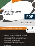 Operações Contra-tendência (Leandro