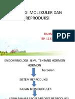 Topik 1. Biologi Molekuler Dan Reproduksi