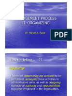 II.organizing