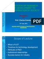 APPLICATION FOR RESEARCH AND DEVELOPMENT Charles Kwesiga [Compatibility Mode].pdf