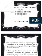ASTM-C33 - Agregados en Concretos
