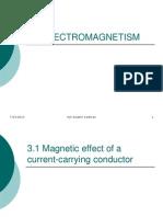 3.0 Electromagnetism