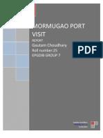 Mormugoa Port Trust Visit_gautam