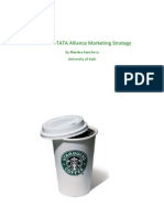 Starbucks-tata Alliance