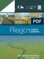 libro 2º seminario internacional de riego en cultivos y pasturas