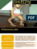 Poliomyelitis referat ilmu penyakit anak definis etiologi patofisiologi epidemiologi rumah sakit tingkat 2 muhmmad ridwan meuraksa