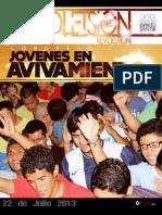 Boletín Juventud Sión 22 de Julio de 2013.