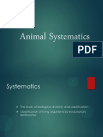 Animal Systematic
