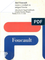 Discurso y Verdad en La Antigua Grecia - Michel Foucault
