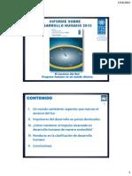 Presentacion HDR2013. Honduras