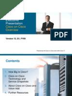 Cisco on Cisco Overview White