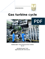 Report Gas Turbine
